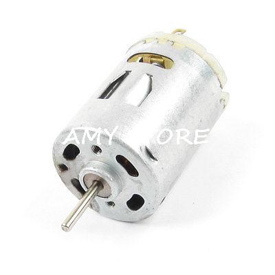 12V DC 10000RPM 2 Pin Connector 27mm Dia. Mini Motor Replacement R385 380 ice hockey jersey usa 30 jim craig 17 jack o callahan 21 mike eruzione steenberge 1980 miracle on ice team sewing size s 3xl