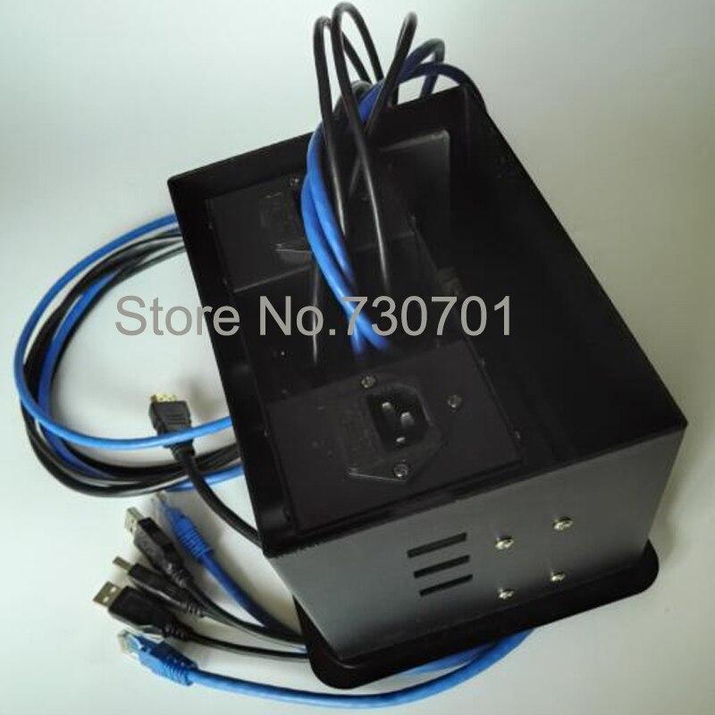 Office Cable Ac Socket Set Fuse Plugs Conference Table Connectivity - Table connectivity box