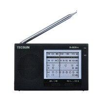 Original Tecsun R-909TV Radio FM/AM/VHF de radio y Televisión receptor 56-108 MHz FM Radio Portátil Negro de Bolsillo AM FM Radio