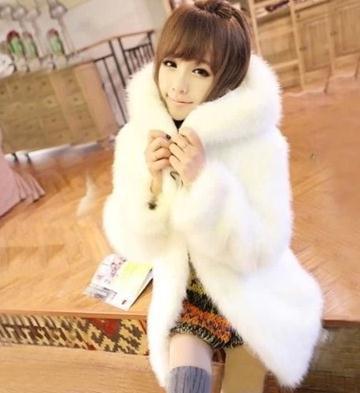 Online Get Cheap Faux Fur Trim Hooded Coat -Aliexpress.com