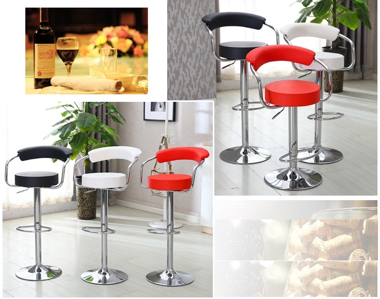 office computer chair sample fair hall meeting room chair red white black color PU seat stool free shipping enterprise office meeting room chair reception room plastic seat wood leg stool free shipping