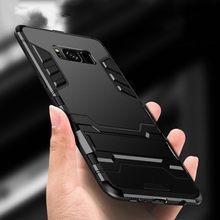 Armor Case Voor Samsung Galaxy S7 S8 Rand S9 S10 Plus Note 5 8 9 Case Voor Samsung A80 A70 a50 A30 A20 A10 A51 A71 4G A21S M51 M31