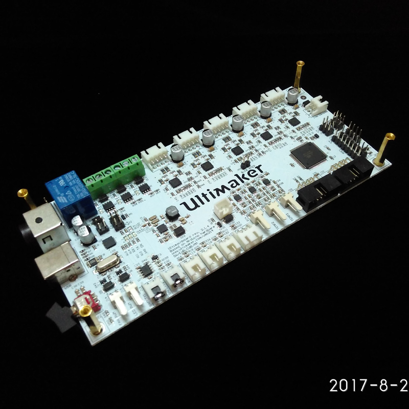New 3D printer um2+extended Masterboard V2.1.4 support single or dual nozzle for Ultimaker2+ control main board quality um2 extended 3d printer full kit not assemble with master single nozzle
