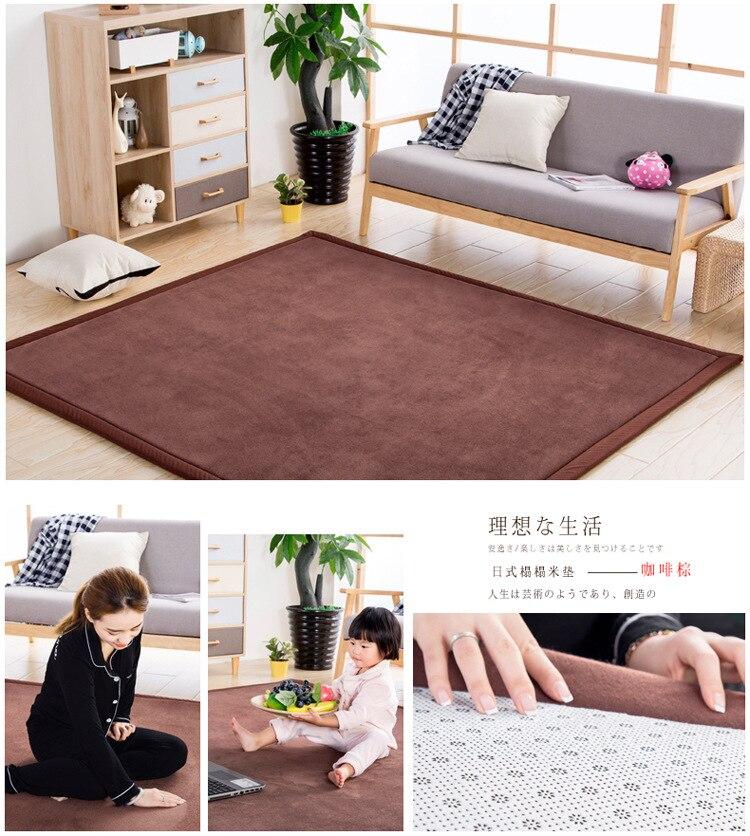 Baby Play Mat Coral Velvet Antiskid Design Crawling Mat  Baby Carpet Mat for Children Game Pad Super Soft Comfortable Playmat  (7)