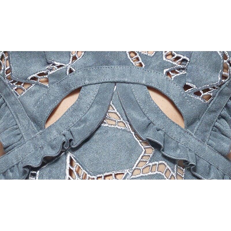 e19d22060d LALA IKAI Brand Women Dresses Sexy Hollow Out Woman Dress Cutwork Suede  Star Mini Dress Women 2018 Summer Beach Vestidos QWA1063-in Dresses from  Women s ...