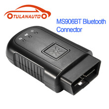 цена на TULANAUTO Original Bluetooth VIC Connector Adapter Connector For Autel MaxiSys MS906 MS906BT
