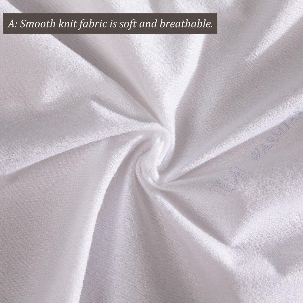 160x200cm Cheap Basic mattress protector knit cloth waterproof mattress cover--W001 A