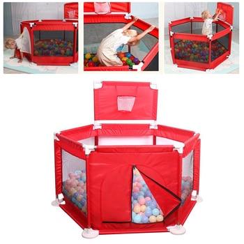 d2248d4c1 Portátil niños Parque Infantil de interior al aire libre bebé PISCINA DE  BOLAS de cartón niños Parque Infantil de juegos bebé bola piscina niños  cerca.