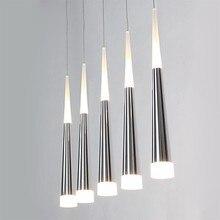 Acrílico Moderna LLEVÓ la Lámpara de Techo de Luz Con 5 Luces Para Salón, Lamparas Lustres de Teto E Pendente De Sala