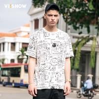 VIISHOW Summer T Shirts Men T Shirts White Famous Brand New Fashion T Shirt O Neck