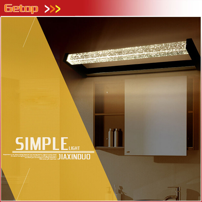 Modern Bubble Crystal LED Chip Mirror Wall Lamp Waterproof Dampproof for Dressing Room Cabinet Bathroom Toilet Make-up Lamp zx modern acryl led mirror wall lamp waterproof and anti fog cabinet mirror light bathroom toilet dressing room make up lamp