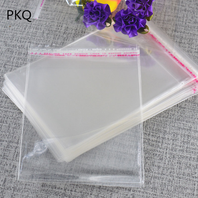 100Pcs//Lot Self Adhesive Unicorn Opp Bags DIY Cookie Candy Transparent Package