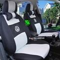 Universal de la cubierta de asiento de coche para volkswagen vw passat cc b6 b5 b7 polo tiguan golf 5 6 7 mk4 jetta touareg pegatina accesorios sedan