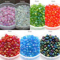 500Pcs/lot(about 50g/lot)shining 4mm Czech Glass Seed Spacer Beads Jewelry Making DIY 8 Colors F1915