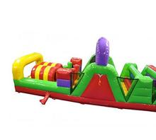 Custom Design Inflatable Interactive Obstacle Course For Fun