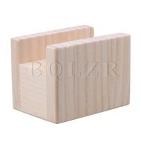 BQLZR 4cm Groove Wood Cube Furniture Lifter Bed Sofa Table Riser Heighten 5cm