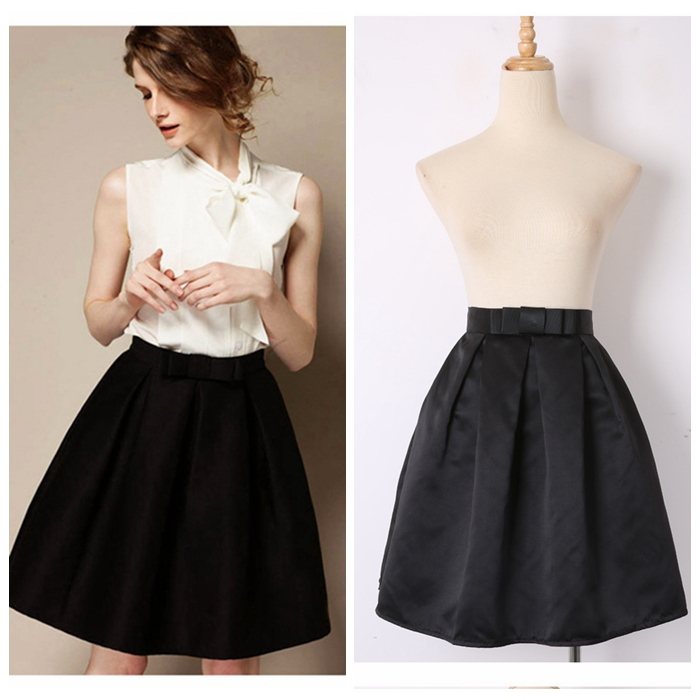 High-Waist-Pleated-Short-Black-Skirt-Audrey-Hepburn-Retro-Vintage-Skirt -Princess-A-Line-Mini-Skirt.jpg