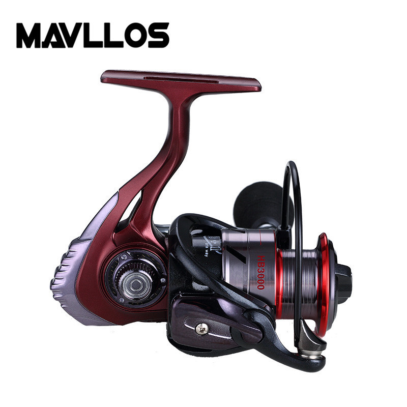 Image 4 - Mavllos 18kg Large Drag Power Fishing Spinning Reel 2000 3000 6000 Series 5:5:1 Saltwater Sea Carp Fishing Reels Metal Handle-in Fishing Reels from Sports & Entertainment