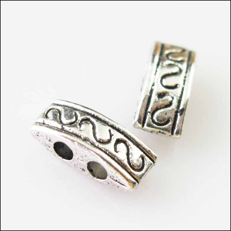 Tibetan silver angel wing connectors links charms 31x8mm Pretty antique