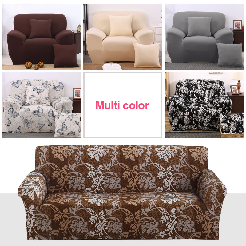Modern Sofa Cover All inclusive Slip resistant Cheap Sofa Towel Elastic Corner Sofa Sectional Covers Spandex