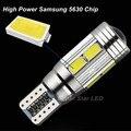 2 x T10 W5W LED Lado Marcador Lâmpadas Luz de Estacionamento Lâmpada de alta Potência Para CITROEN C2 C3 C4 C5 Xsara Berlingo Saxo