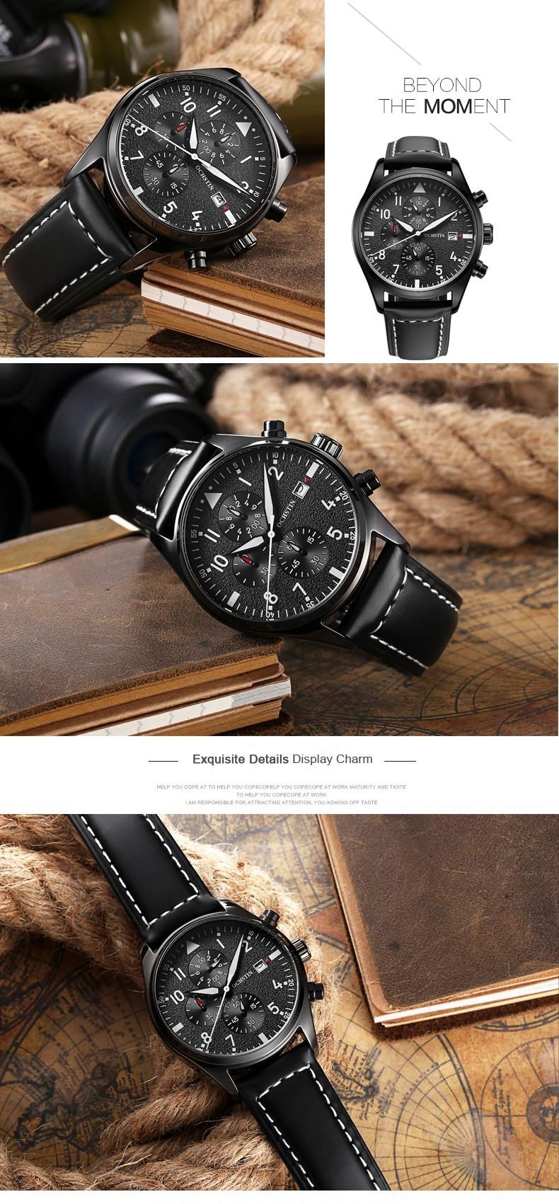 Zegarek Ochstin Infinity Czarny 9