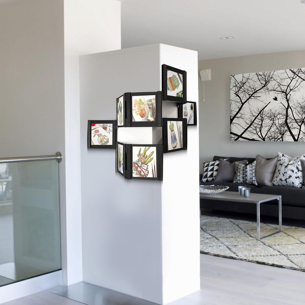 LEGGY HORSE4piezas / unidad DIY conjuntos de marcos de fotos de casa ...