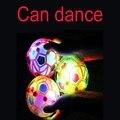 Свет Прыжки Мяч С Ума Музыка Футбол/прыгающий мяч/танец мяч/футбол детские Забавные Игрушки Случайная цвет 10.5 СМ JK970170