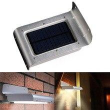 16 LED Solar Power Waterproof Motion Sensor Lamp  Auto-induction Outdoor Convenient Light