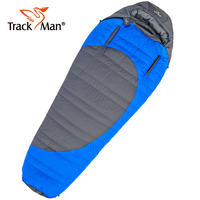 Trackman Mummy Duck Down Sleeping Bag Outdoor Winter Cold Weather Hiking Adult Warm Sleeping Bags With