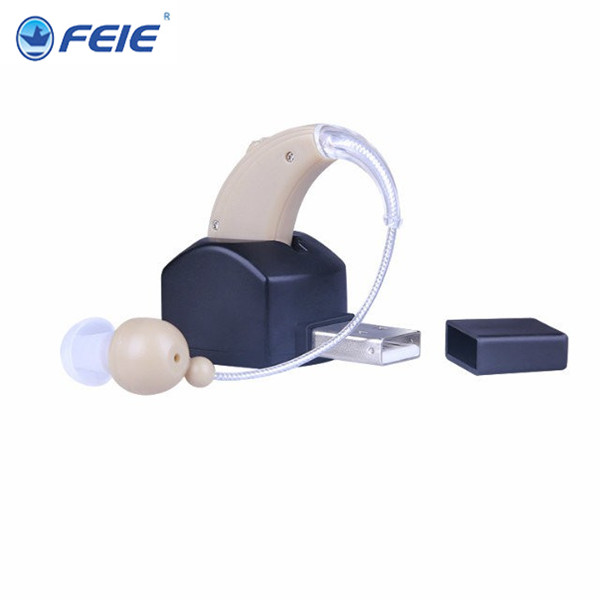 Rechargeable Sound Voice Amplifier hearing aids Free Shipping mini bte digital hearing aid for elderly hearing loss S-109 feie aanalog bte hearing aid rechargeable sound amplifier s 217 free shipping