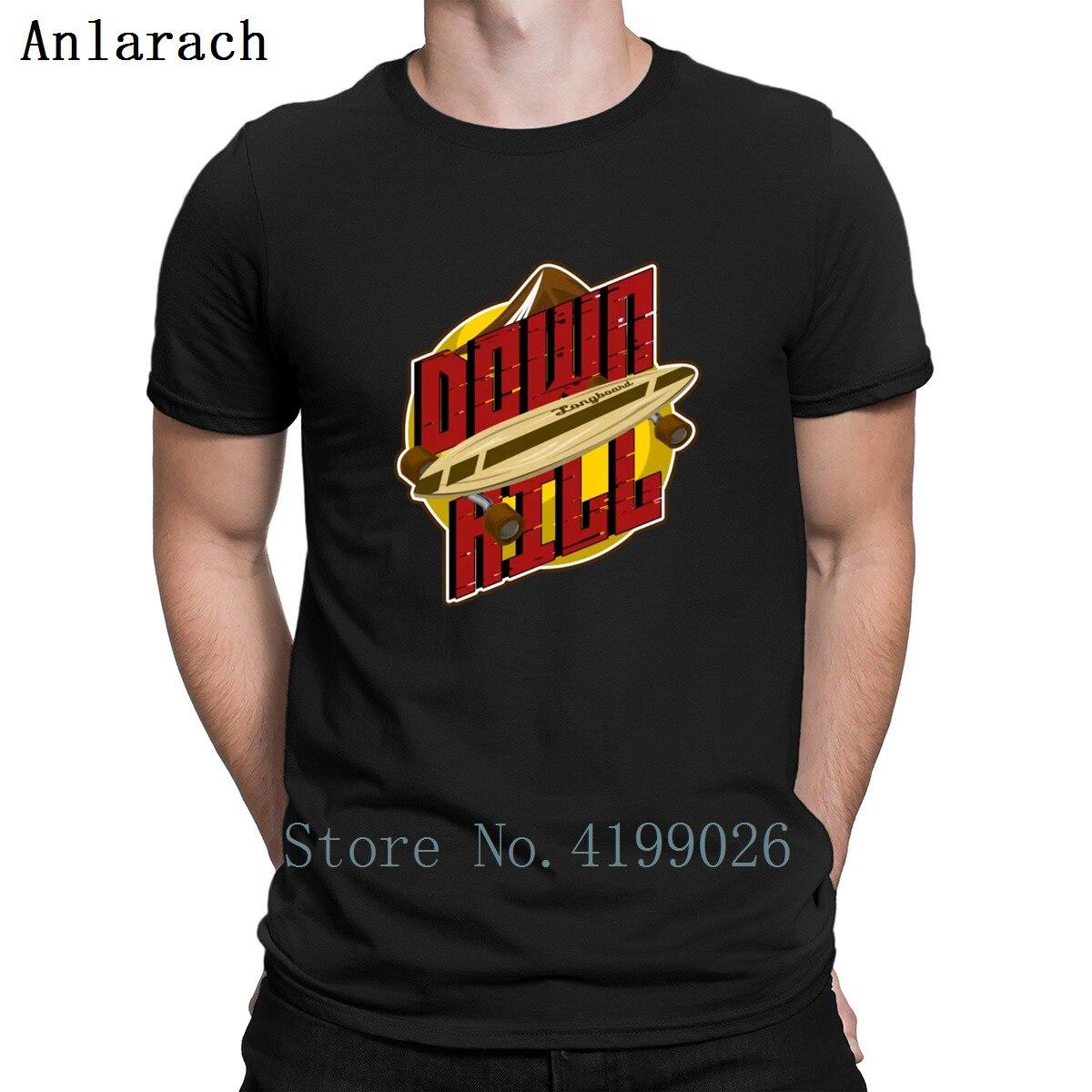 100% QualitäT Downhill Longboard Geschenk Skate Geschwindigkeit Berg T-shirts Original Druck Neuesten Unisex Männer T-shirt Plus Größe 3xl Hüfte Hop