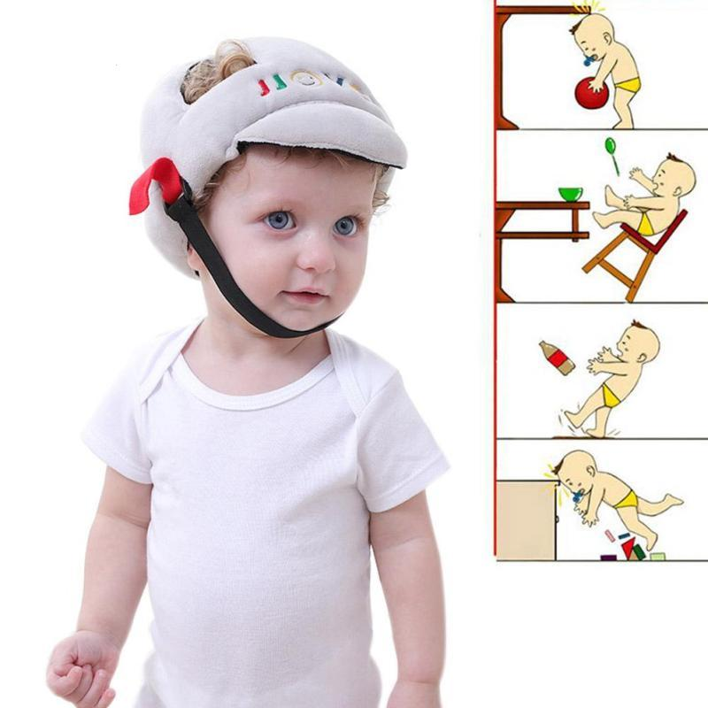 Toddler helmet head protector infant head protection hat caps Adjustable Protection hat for walking Headguard Anti-collision D2