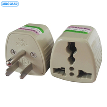 цена на 3PCS International EU UK AU To US USA Canada AC Power Travel Adapter Network Filter Plug Universal Adapter Converter 10A 250V