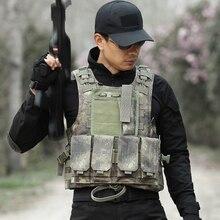 Руины Камуфляжный охотничий жилет мужской армейский тактический боевой жилет уличный военный амфибия тренировочный жилет защитный жилет