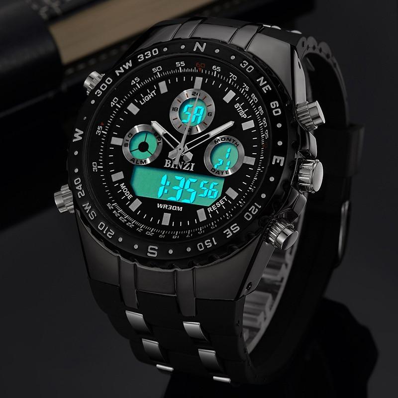 BINZI ბრენდის - მამაკაცის საათები - ფოტო 3