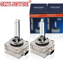 SKYJOYCE оригинальный 55 Вт 35 Вт 4300 К D1S Xenon D3S 6000 К 5000 К D1S ксеноновая лампа все металлическое основание коготь 8000 К D1S D3S HID лампы фар
