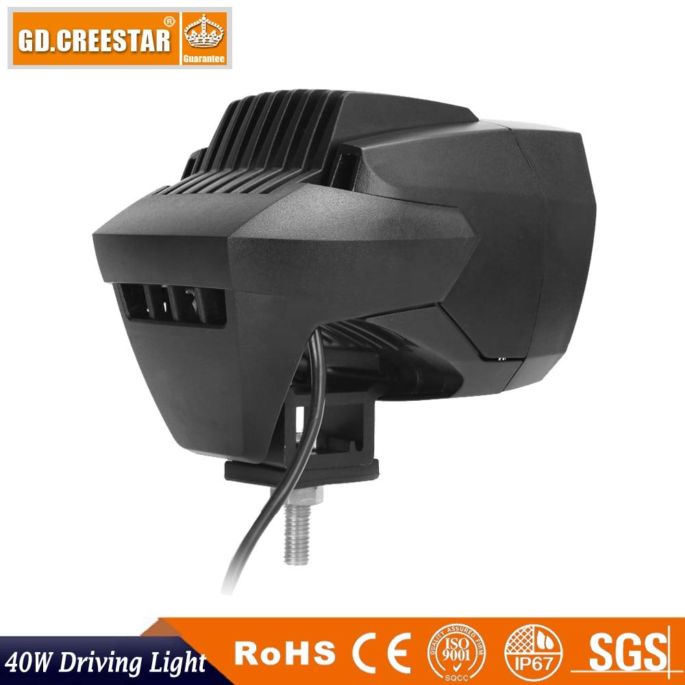 40W 5inch Nova LED svjetla za vožnju 12V 24V LED svjetiljka za - Svjetla automobila - Foto 5