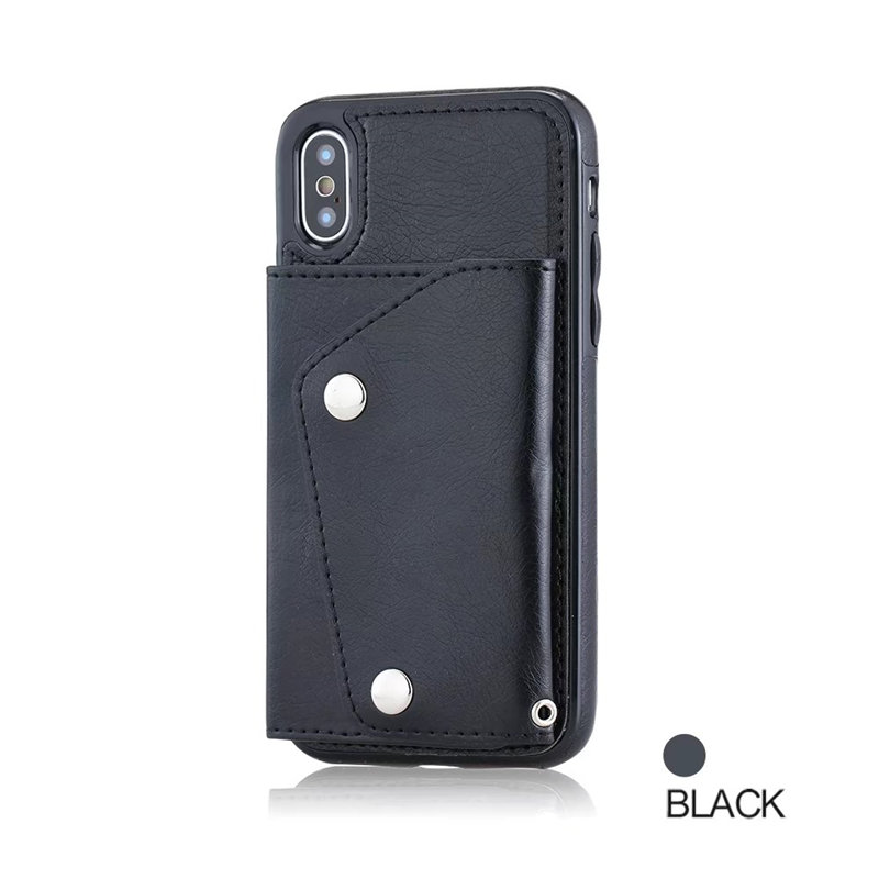 Luxury Cover for iPhone X Case Wallet Cards Slots (11)