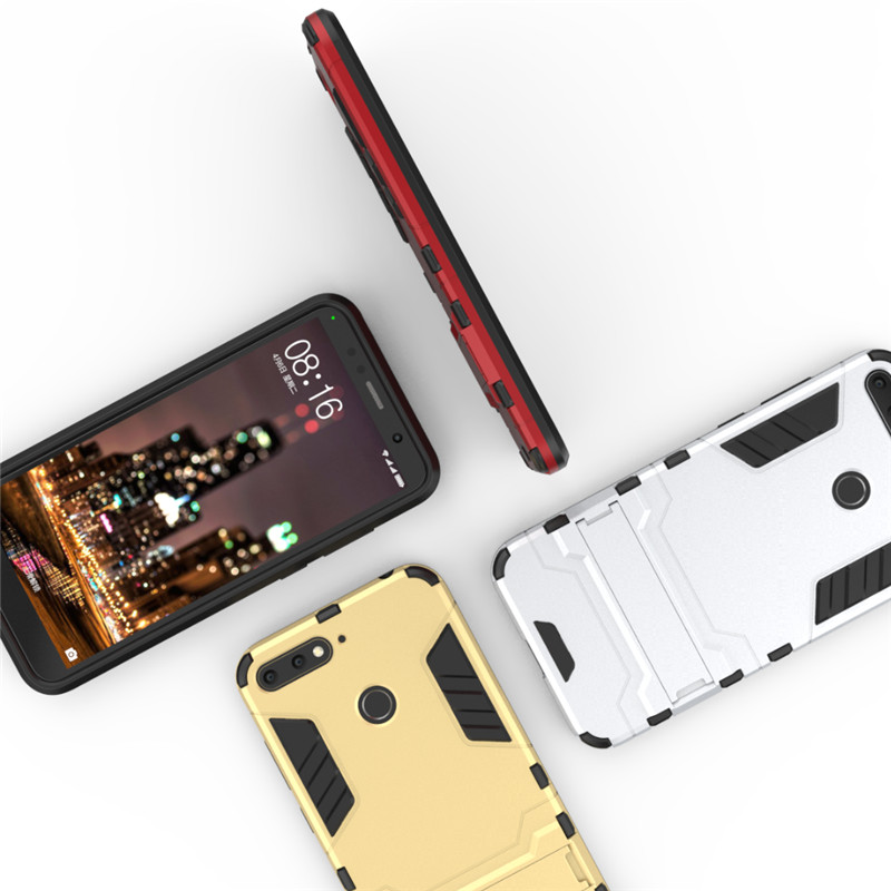 Stand PC Full Protection Hard phone Case for Huawei Honor 7A Pro case Fundas Honor 7A Coque for Huawei Honor 7a pro 5.7 Casing
