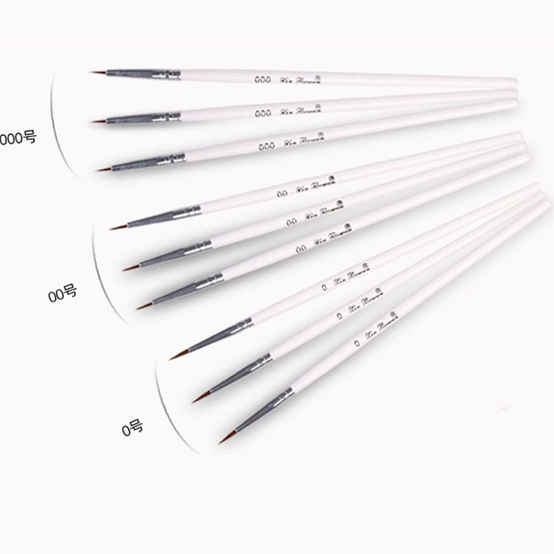 Professional Fine Hand-painted Hook Line Pen Round Tip Watercolor Drawing Painting Brush Pen Art Supplies Korean Stationery