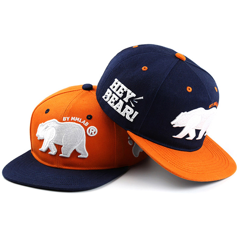 New Unisex Best Top Quality Bear Baseball Cap Snapback Casual Gay Caps Fashion Bear Paw Hip-Hop Hat Circumference: 57-62 cm mnkncl new fashion style neymar cap brasil baseball cap hip hop cap snapback adjustable hat hip hop hats men women caps