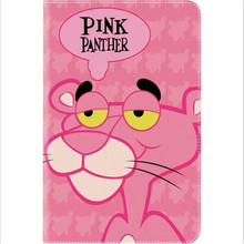 Personality cartoon naughty leopard pattern leather cover for ipad 2017 new A1822 A1823 brand quality tablet case with package