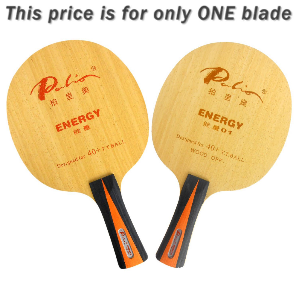 Palio Energy01 Energy 01 Energy-01 table tennis pingpong blade 2015 The new listing Favourite