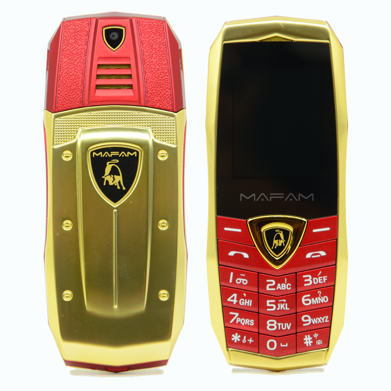 Image 3 - MAFAM A18 Russian Arabic Spanish French Vibration Luxury metal body car logo dual sim gsm china Mobile phone in stock-in Cellphones from Cellphones & Telecommunications