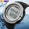 Podómetro Contador de Calorías Monitor Del Ritmo cardíaco Del Reloj Digital SKMEI Marca de Relojes Deportivos de Fitness Para Mujeres de Los Hombres Al Aire Libre Caliente