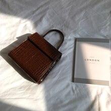 Crocodile Bag for Women Top Handle Small Flap Bag Casual Messenger Bags Crossbody Bags for Women Purses Clutch Ladies Handbags все цены