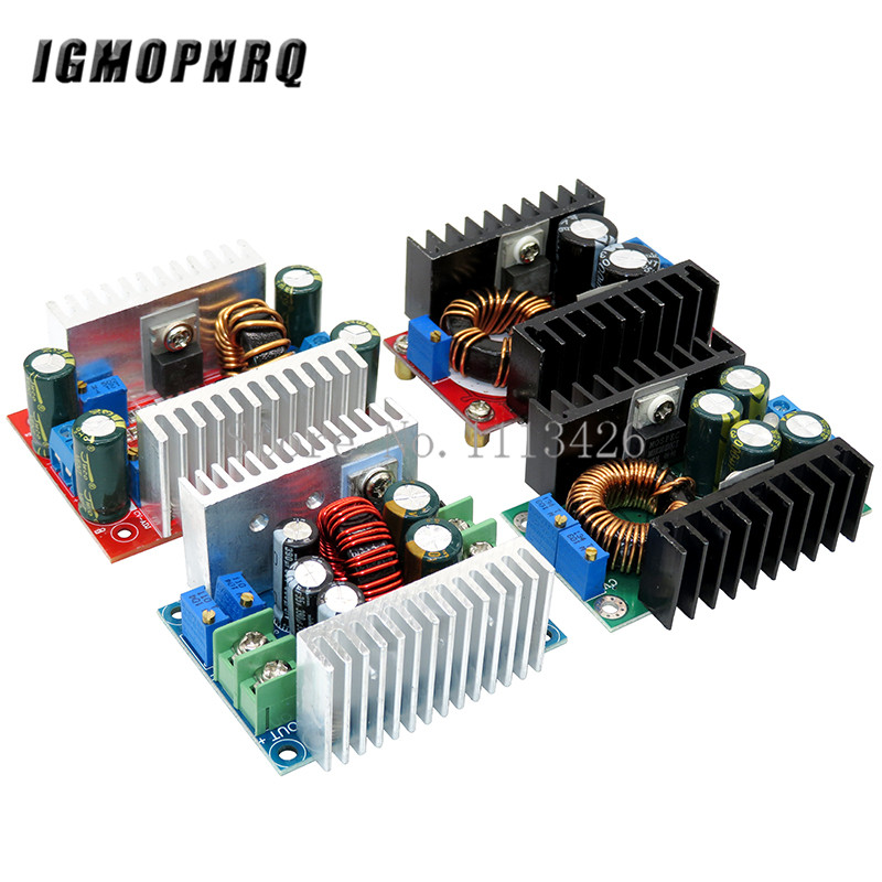 DC-DC 150W 10-32V To 12-35V/9A 300W 5-40V To 1.2-35V/300W 20A/400W 15A 8.5V-50V To 10V-60V Step-up Step Down Power Supply Module
