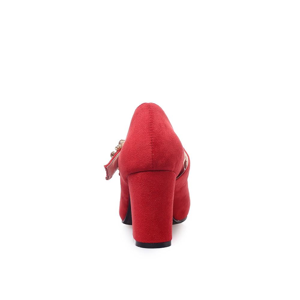Sexy pink Rouge Talons Nouveau Pompes Lady 32 43 2019 Taille Marque Grand Beige Haute Eb92 Glamour Plus Formelle Carré red 10 Beige Petit black Chaussures Nude Femmes 46 wPwIFx