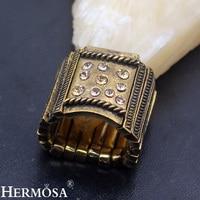 Vintage Antique Style Unikalne Różowe Złoto Nowa Sprzedaż Regulowany Pierścień Kobiety Mężczyźni Biżuteria NY957 Darmowa Wysyłka